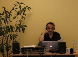 Marco Ponce Kärgel. Mobiles Tonstudio