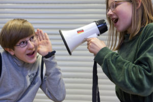 Hörspiele mit jungen Menschen. Foto: Elge Kenneweg
