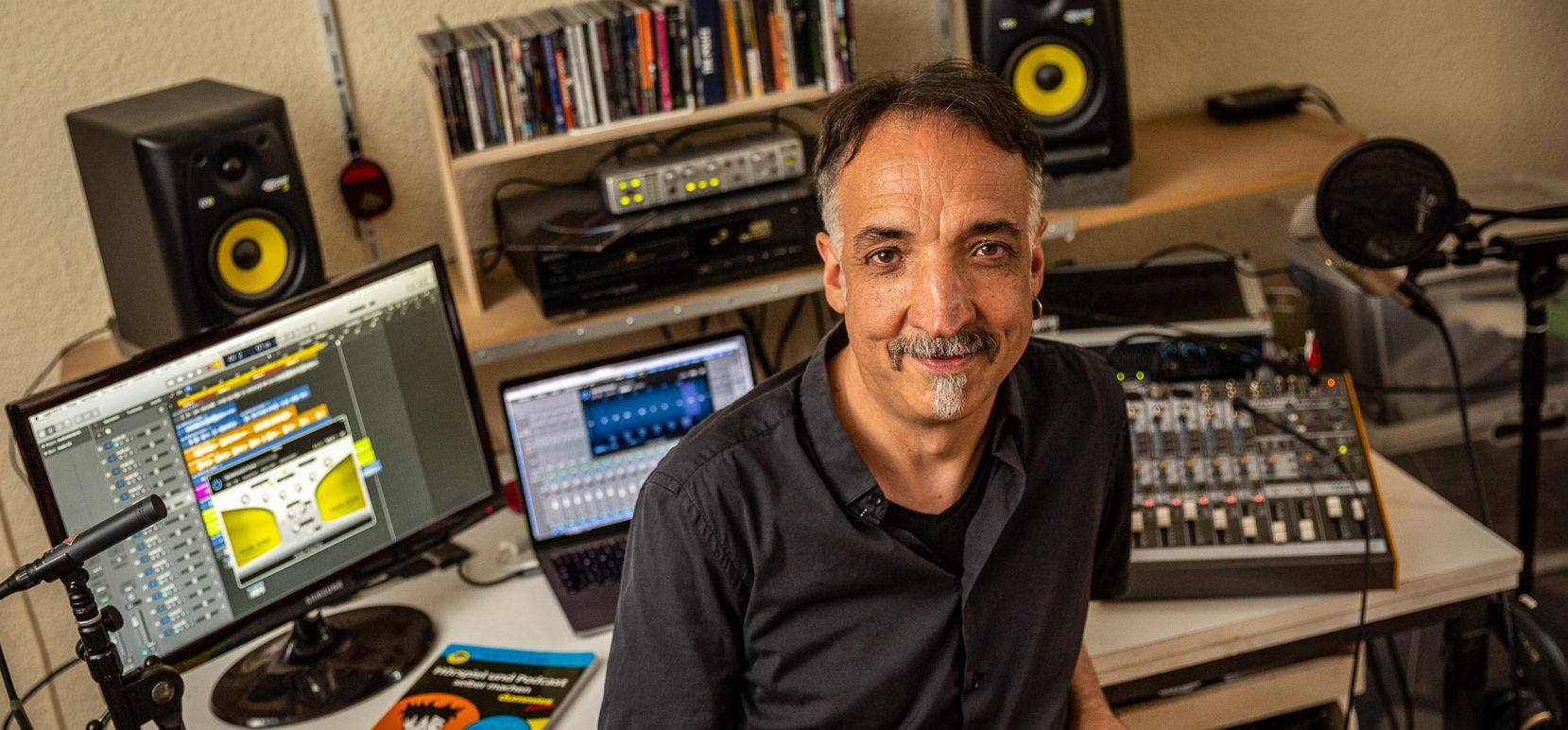Marco Ponce Kärgel, Musiker & Medienpädagoge Berlin. Foto: Christian Reister